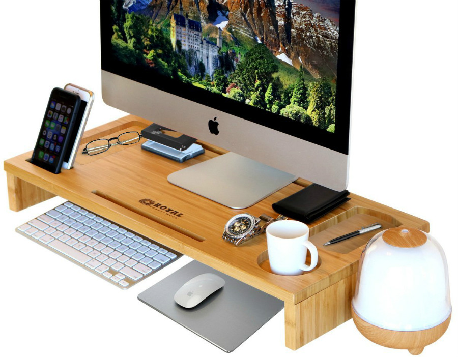 Affordable Monitor Stands With Phone Holder