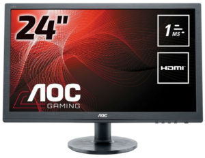 AOC E2460SH Review – Entry Level TN Gaming Monitor