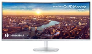 Samsung CJ791 Preview – Ultrawide QLED Monitor with Thunderbolt 3