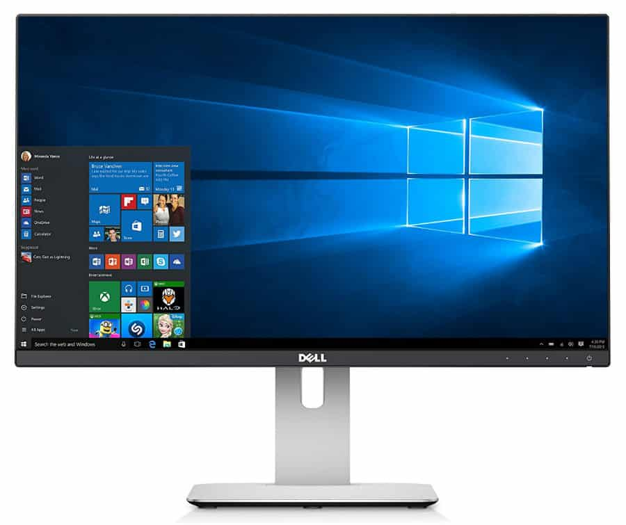 Dell U2414H for surround vision