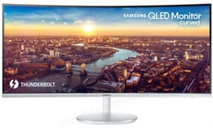 Samsung C34J791 Review – QHD Ultrawide QLED Monitor with Thunderbolt 3