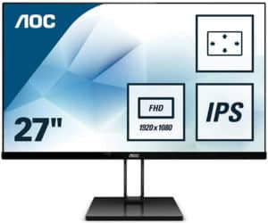 AOC 27V2Q Review – 75Hz Ultrathin IPS Monitor for Mixed Use