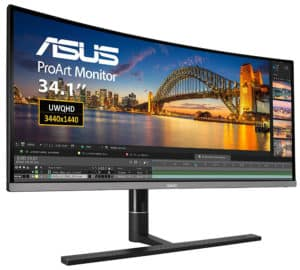 Asus PA34VC Review – Color Calibrated Ultrawide Monitor with USB-C Thunderbolt 3