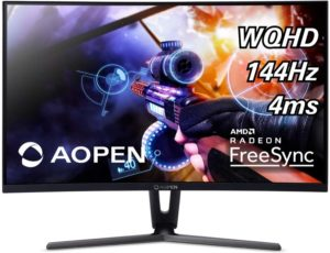 AOPEN 32HC1QUR Review – Affordable 1440p 144Hz Curved Gaming Monitor