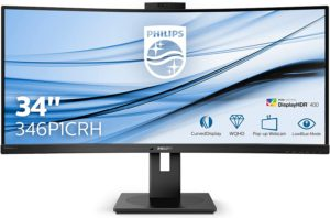 Philips 346P1CRH Review – 100Hz USB-C Ultrawide Monitor with KVM and HDR Compatibility