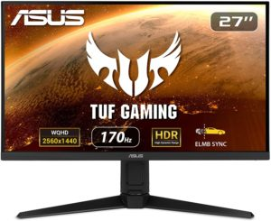 Asus VG27AQL1A Review – 170Hz QHD Gaming Monitor with ELMB and G-Sync Compatibility – Editor's Choice