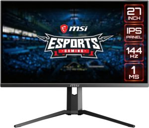 MSI MAG273R Review – 27-Inch 144Hz IPS Gaming Monitor for E-Sports Gaming
