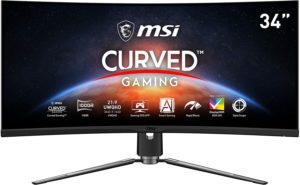MSI Artymis 343CQR Review – 165Hz QHD Ultrawide Gaming Monitor with 1000r Curve