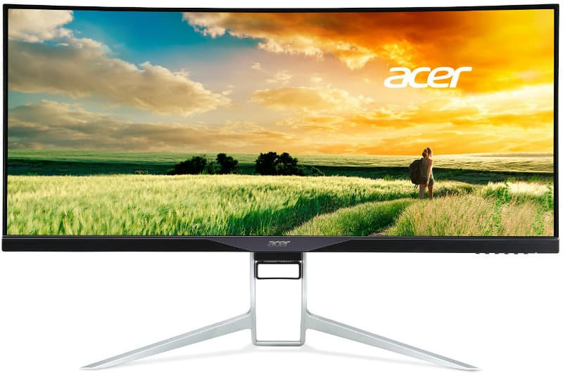 Acer XR341CK review 75hz curved best freesync gaming screen